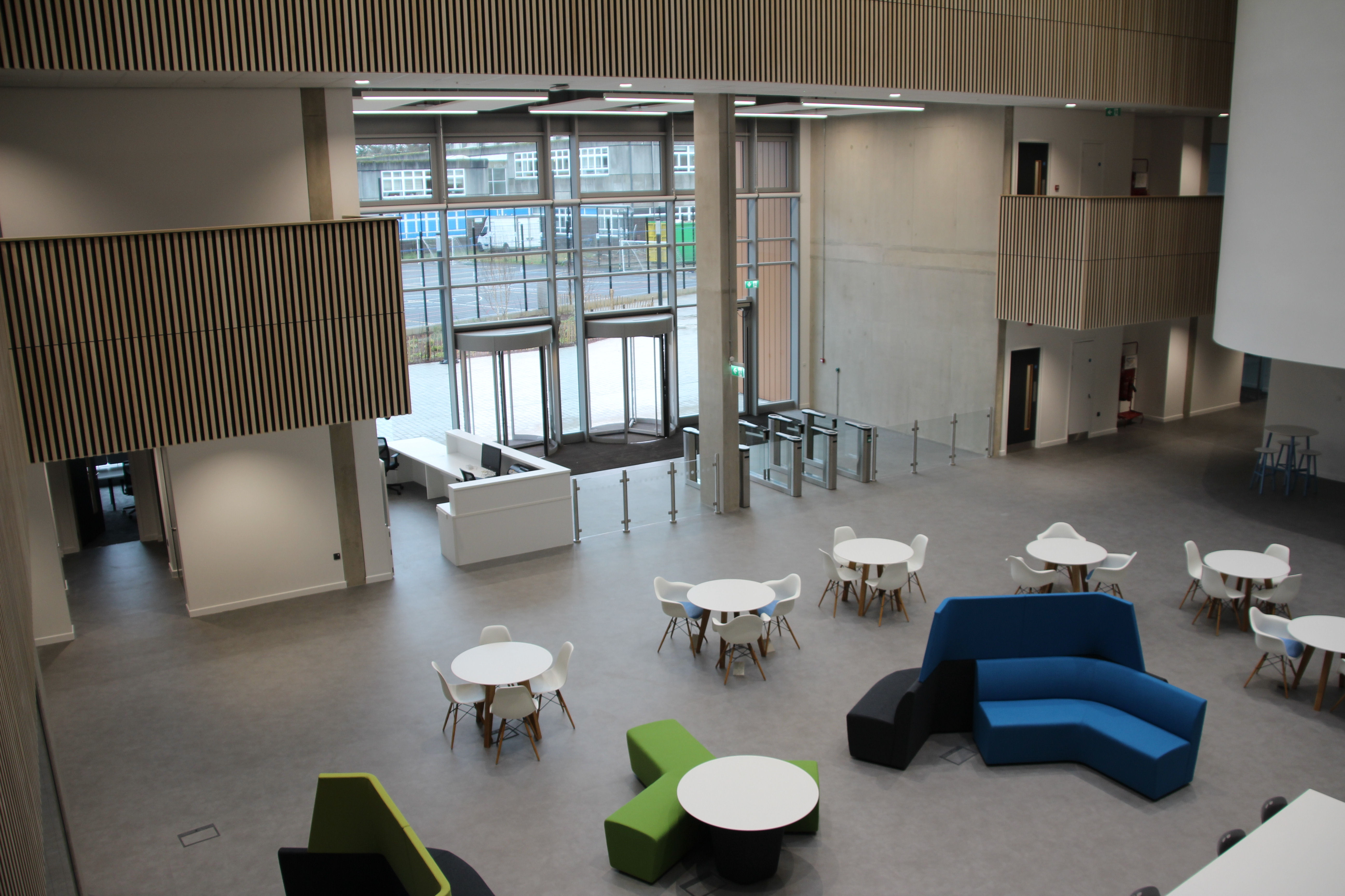 REL Completes M&E Package for £34M College Building